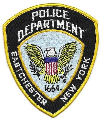Eastchester NY NEW YORK Police patch OLD