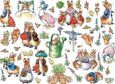 Beatrix Potter Onions B//W Cross Stitch Chart BUY 1 GET 1 HALF PRICE