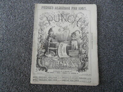 Punch's Almanack for 1865.