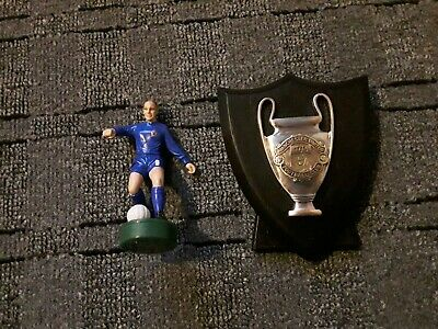 Manchester United Figure And Plaque . Bobby Charlton, Champions League