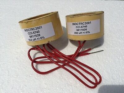 Inductor INDCTRC3001 - CCI-5740 - 393 uH +/-5%