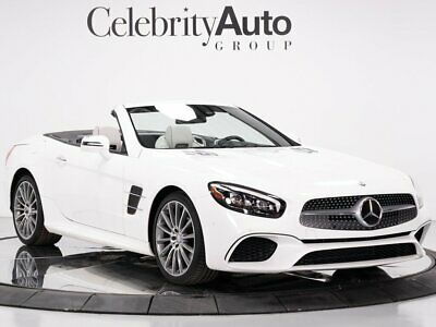 2017 SL-Class SL450 Drivers Assist Designo Platinum White Int 2017 MERCEDES BENZ SL450 PREMIUM PKG DRIVERS ASSIST
