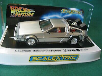 Scalextric C4117 Delorean Back To The Future Dpr Bnib