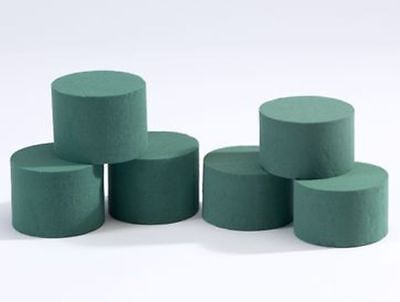 Oasis® Ideal Floral Foam Cylinder - Wet 5cm - A box of 96 (8 x 5cm)