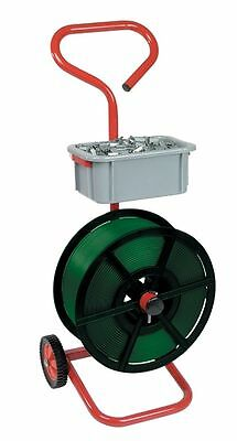 Heavy Duty Mobile Strapping Trolley for 12mm Hand Pallet Strapping