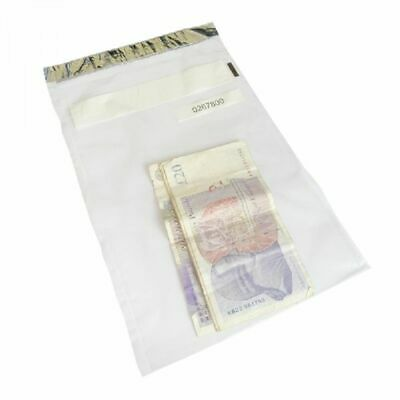Large Note Bags - Tamper Evident Note Wrapper Bags