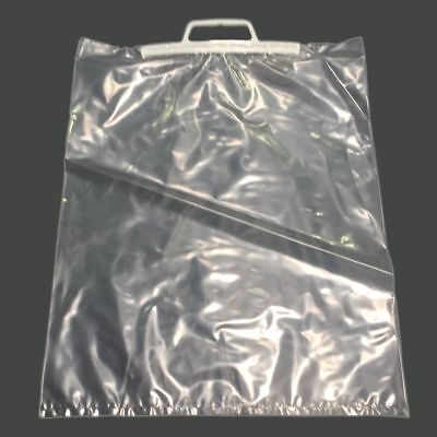 Clip Close Handle Clear Polybags Choose Size/Qty
