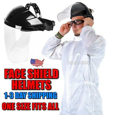 Welding Face Shield Tinted Grinding Helmet Adults Dark Green 1-3 Day S&H