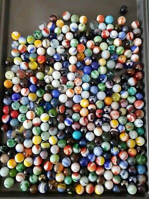Vintage Mixed Marbles Lot #43