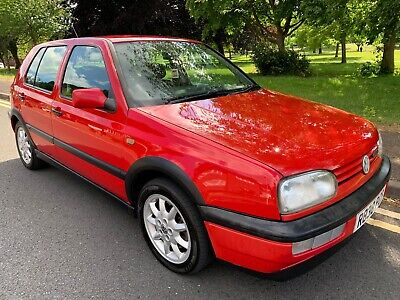 VW GOLF 2.0 GTI 8V 5DR, MK3 1998/R, Tornado Red, Retro Classic