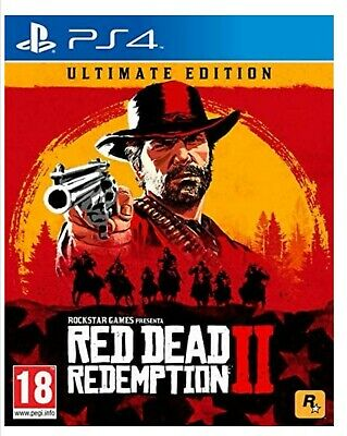 Red Dead Redemption 2 ULTIMATE EDITION - Steelbook PS4, PlayStation4 Italiano