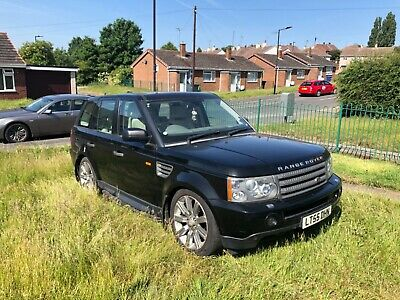 Spares or repair 2005 Range Rover Sport 4.4 v8 hse automatic gas converted
