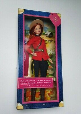 Barbie Dolls of The World Canada Royal Canadian Mounted Police RCMP