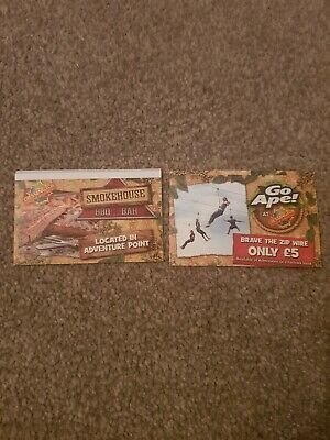 2 x Chessington Tickets For 17th June 2020