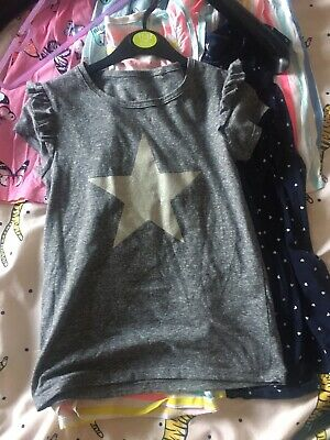 Next girls outfit age 8 Tshirt, Shirt And Jeggins Jeans In Grey