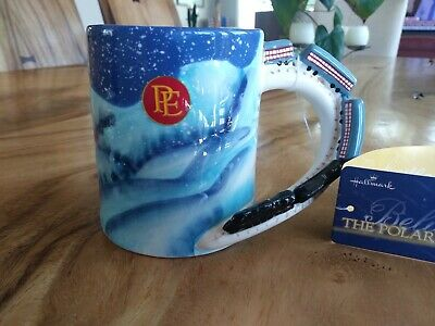 The Polar Express Coffee Mug With  3D Train Handle