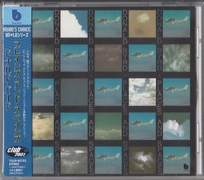 Donald Byrd – Places And Spaces BLUE NOTE JAPAN CD Chuck Rainey, Harvey Mason
