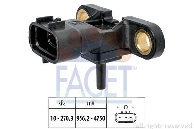 Sensor, Ladedruck Made in Italy - OE Equivalent FACET 10.3163