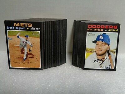 2020 Topps Heritage Pick Your Player #401-500 SP's $0.99-$1.99