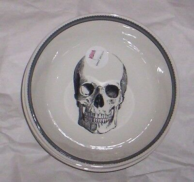 ROYAL STAFFORD  SKULL *SOUP CEREAL BOWL* GOTHIC  New, Set of 4