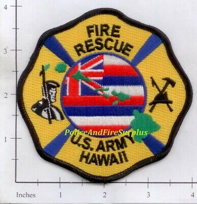 Hawaii - US Army Fire Rescue HI Fire Dept Patch
