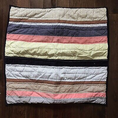 POTTERY BARN KIDS Pair of 2 Quilted Pillow Shams 26x26