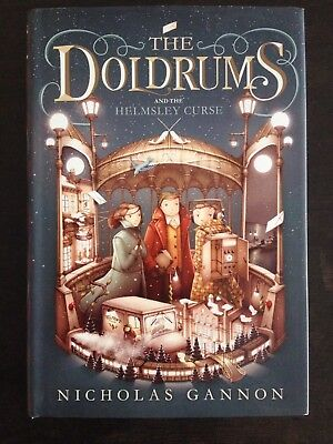 Nicholas Gannon Signed The Doldrums And The Helmsley Curse First Edition Rare