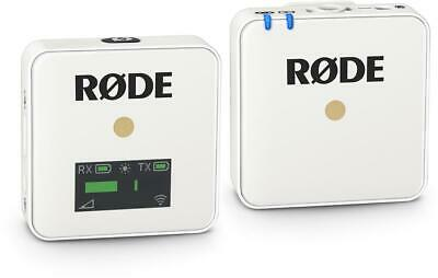 Rode Wireless GO Compact Wireless Microphone System - White (WirelessGOWhd1)