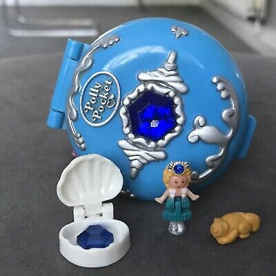 Vintage Polly Pocket 1992 Jeweled Sea 100% Complete (WithOut Silver Chain)
