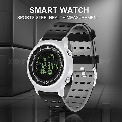 XGODY Bluetooth Digital Watch Sport Men Electronic Fashion Water Resistant Watch