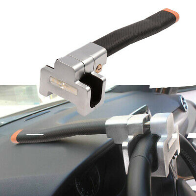 Universal Car Steering Wheel Security Lock With 2 Keys Anti-Theft Devices UK
