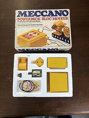 Vintage Meccano Powerpack, from 1978, Checked and Complete