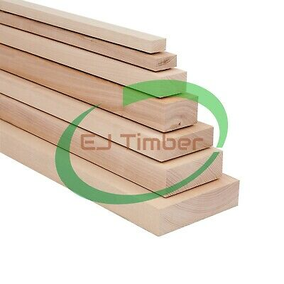 44mm ASH Timber, Kiln Dried, Planed All Round, Cut To Sizes, Price Per 1m, DYI