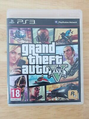 Grand Theft Auto 5 PS3 GTA V
