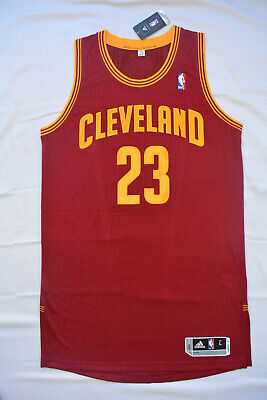 LEBRON JAMES Cleveland Cavaliers AUTHENTIC PRO CUT New LARGE (+2) 44 NBA Jersey