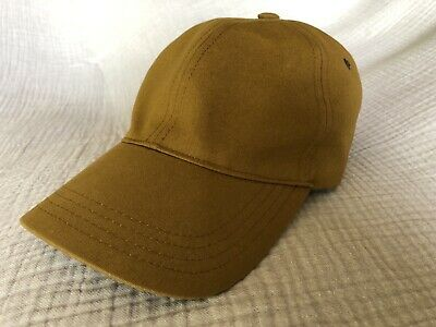 APC Baseball Cap Brown Khaki NWOT XL