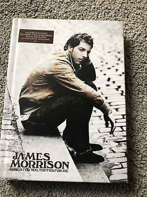 James Morrison - Songs For You Truths For Me CD & DVD & Book