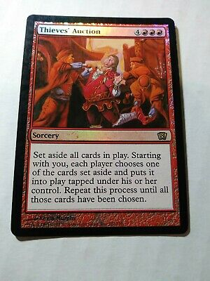 The Gathering Thieves Auction LP Magic MTG Eighth Edition