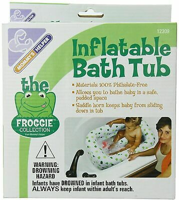 Mommy's Helper Froggie Collection Inflatable Bath Tub (12309)