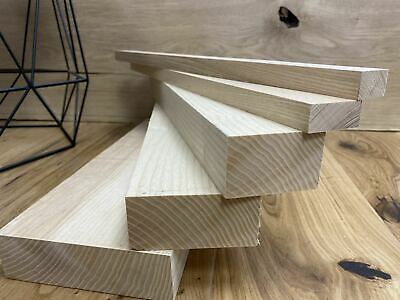 25mm ASH Timber, Kiln Dried, Planed All Round, Cut To Sizes, Price Per 1m