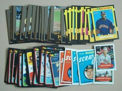 2020 Topps Heritage Insert Lot of 51:  See List