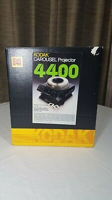 Vintage Kodak 4400 Carousel Slide Projector with Wired Remote