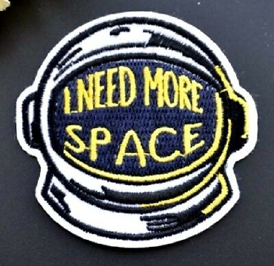 Brand New Abstract Astronaut Spaceman Iron On patch Sew On transfer
