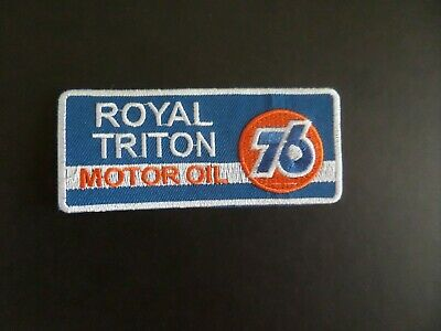 3 LOT 76 RACING FUELS  Easy Sew//Iron On WHOLESALE GAS//OIL 3 /&  4 Inch PATCHES