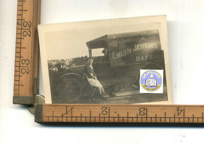 OLD  PHOTO OF Emlyn Jenkins - DAFE - truck from ASHLEIGH---} ? D.C., IL, or S.C.