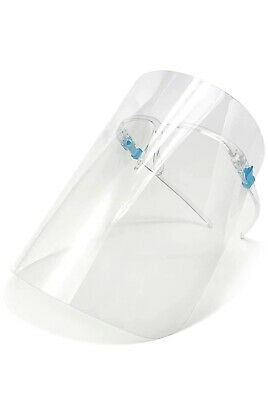 Full Face Shield Mask Clear Flip Up Visor oil fume Protection Work Guard Safety