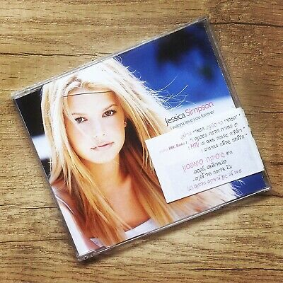 Jessica Simpson I Wanna Love You Forever CD Single Promo Israil 1999 Open Book