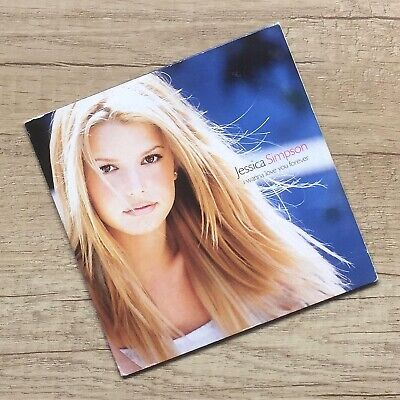Jessica Simpson I Wanna Love You Forever CD Single Europe 2000 Rare Open Book