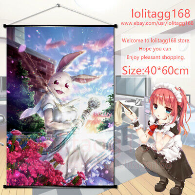 cloth Poster Wall Scroll painting decor Anime My Roommate Is A Cat Haru 60x40cm