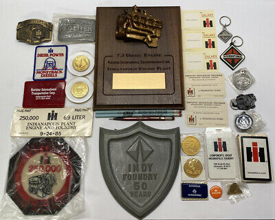 Vintage International Harvester Indianapolis Works Memorabilia Lot of 33 Items